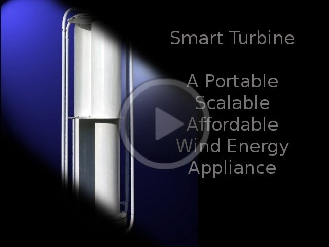1750 Watt Peak - SMART Turbine Model 1.75 - Video